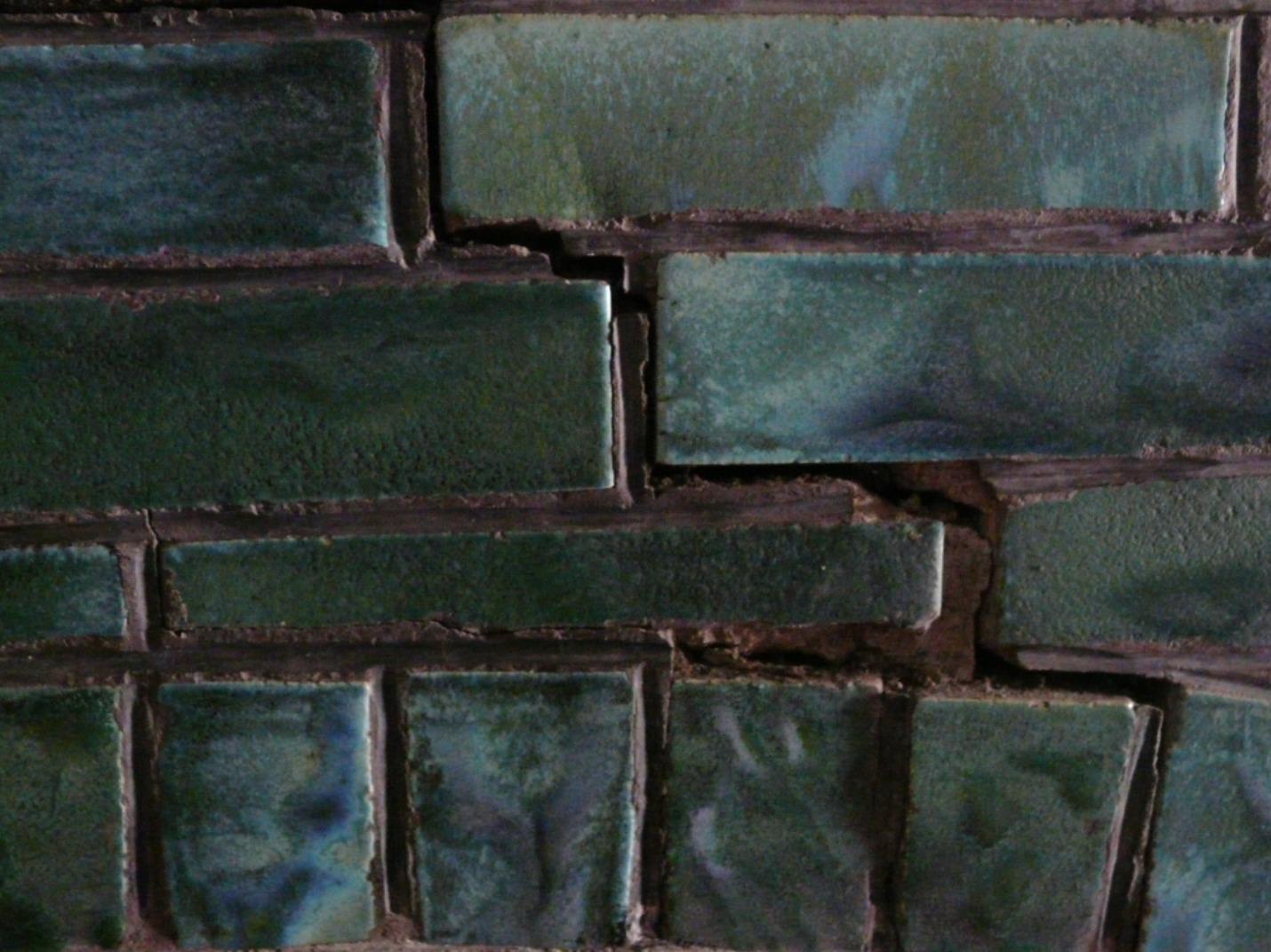 Calorifère en briques émaillées 2