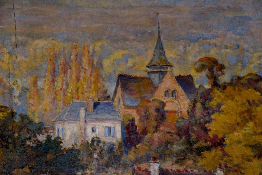Peintures murales - Saint-Pierre-du-Vauvray
